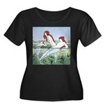 Art Nouveau: Bathing Nymphs Plus Size T-Shirt