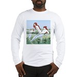 Art Nouveau: Bathing Nymphs Long Sleeve T-Shirt