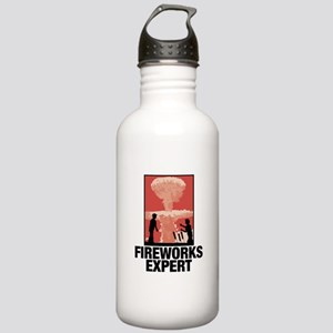 Mushroom Cloud Fireworks Expert Water Bottle