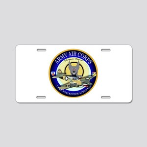 7th Fighter Group - P40 Warhawk Aluminum License P