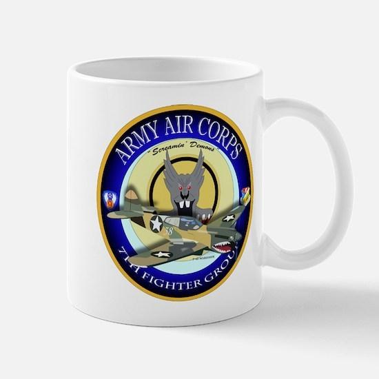 7th Fighter Group - P40 Warhawk Mug