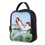 Art Nouveau: Bathing Nymphs Neoprene Lunch Bag