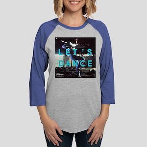 Footloose Let's Dance Womens Baseball Tee