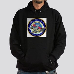 9th Fighter Squadron - Flying Knights - P40 Hoodie