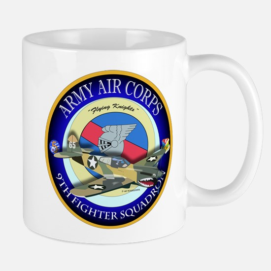 9th Fighter Squadron - Flying Knights - P40 Mug