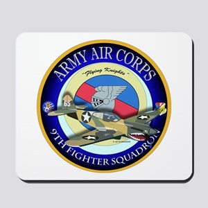 9th Fighter Squadron - Flying Knights - P40 Mousep