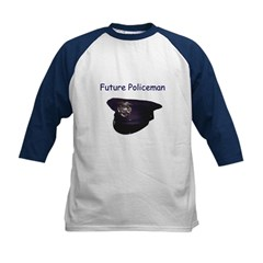 Future policemen Kids Baseball Jersey