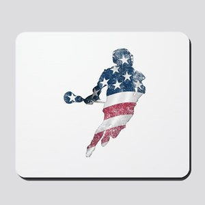 USA Lacrosse Mousepad