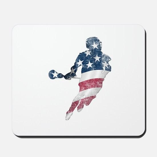 USA Lacrosse Mousepad