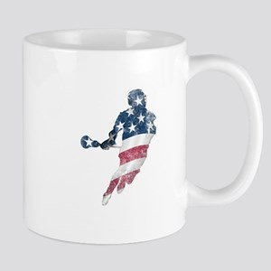 USA Lacrosse Mug