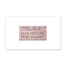 Fear Wall Decal