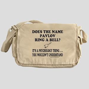 DOES THE NAME PAVLOV RING A BELL? Messenger Bag
