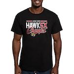 HAWK5X Men's Fitted T-Shirt (dark)