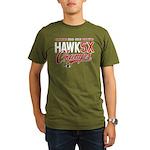 HAWK5X Organic Men's T-Shirt (dark)