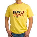 HAWK5X Yellow T-Shirt