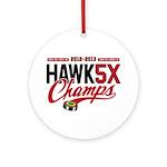 HAWK5X Ornament (Round)