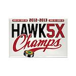 HAWK5X Rectangle Magnet