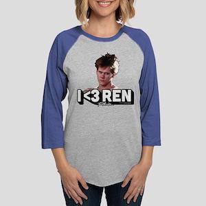 Footloose I Heart Ren Womens Baseball Tee