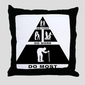 Geezer Throw Pillow