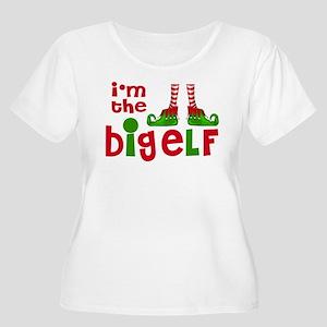 Big Elf Christmas Plus Size T-Shirt
