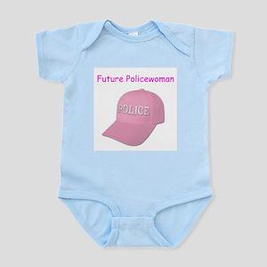 future police woman Infant Bodysuit