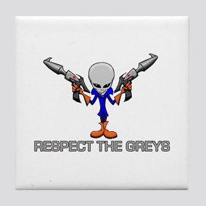 RESPECT THE GREYS Tile Coaster