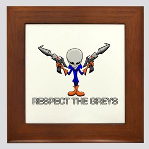 RESPECT THE GREYS Framed Tile