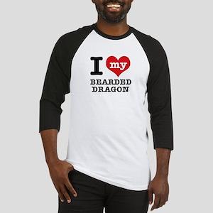 I love my Bearded Dragon Baseball Jersey