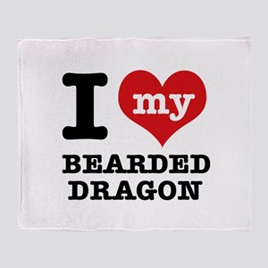 I love my Bearded Dragon Throw Blanket