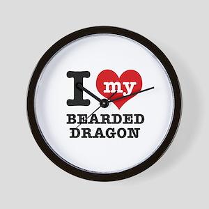 I love my Bearded Dragon Wall Clock