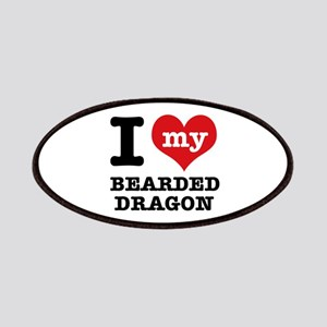 I love my Bearded Dragon Patches