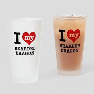 I love my Bearded Dragon Drinking Glass