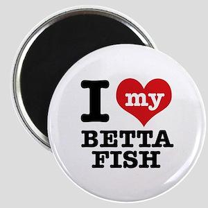 I love my Betta Fish Magnet