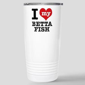 I love my Betta Fish Stainless Steel Travel Mug