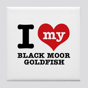I love my Black Moor Goldfish Tile Coaster
