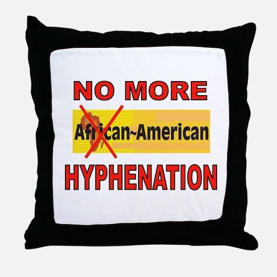 HYPHENATION Throw Pillow