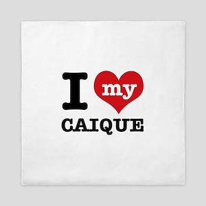 I love my Caique Queen Duvet