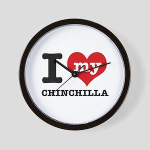 I love my Chinchilla Wall Clock