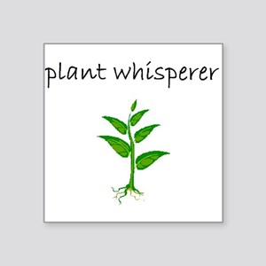 plant whisperer Sticker