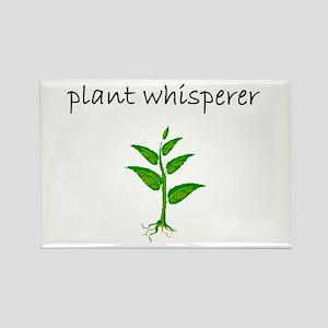 plant whisperer Rectangle Magnet