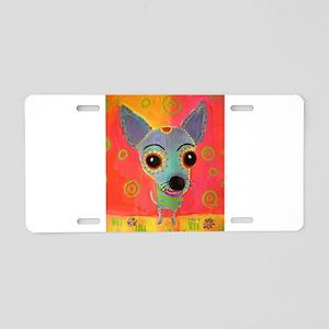 Little Chico Aluminum License Plate