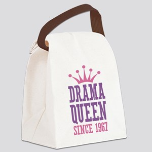Drama Queen Since 1967 Canvas Lunch Bag