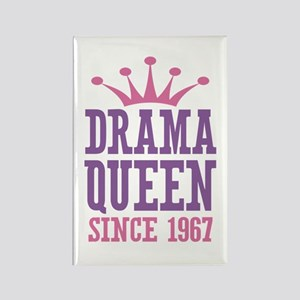 Drama Queen Since 1967 Rectangle Magnet