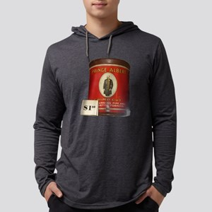 Prince Albert In A Can Mens Hooded Shirt