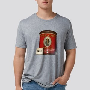 Prince Albert In A Can Mens Tri-blend T-Shirt