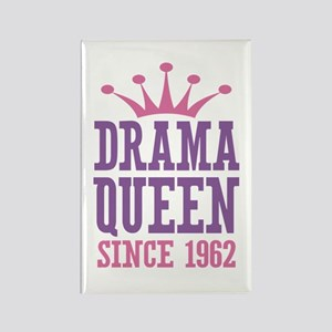 Drama Queen Since 1962 Rectangle Magnet