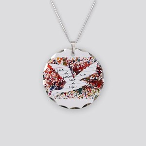 LackOfPassion Necklace Circle Charm