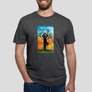 Yoga Mens Tri-blend T-Shirt