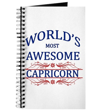 World's Most Awesome Capricorn Journal