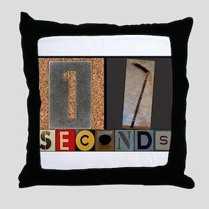 17 Seconds - Goal Throw Pillow